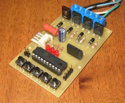Современные микросхемы для привода шаговых двигателей