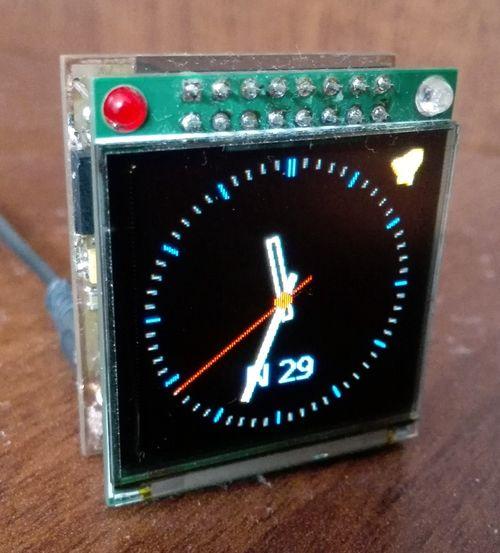 Часы-будильник на OLED дисплее