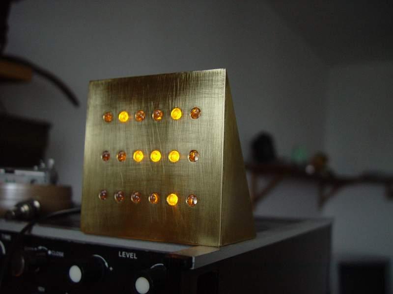 Бинарные часы на ATmega8, PCF8583