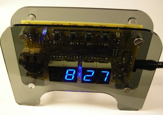 Часы на Atmega8535
