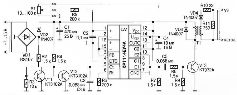 Рис. 1 Регулятор тока