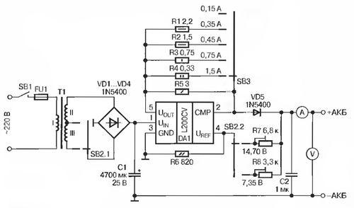 аккумуляторов - L200